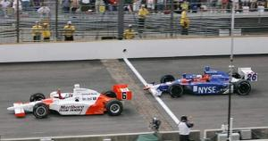 2006 Indy 500 Finish